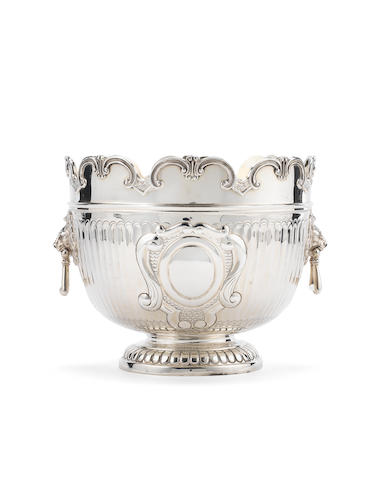 An Edwardian silver two-handled punch bowl, William Hutton & Sons Ltd, London 1901,