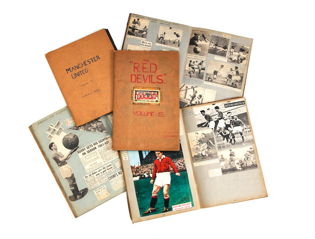 1954-1958, Busby Babe years scrapbooks