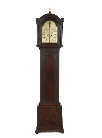 Longcase clock by William Bullock with bag of mouldings