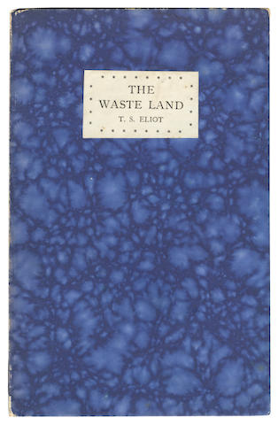 ELIOT (T.S.) The Waste Land, first English edition, Hogarth Press, 1923