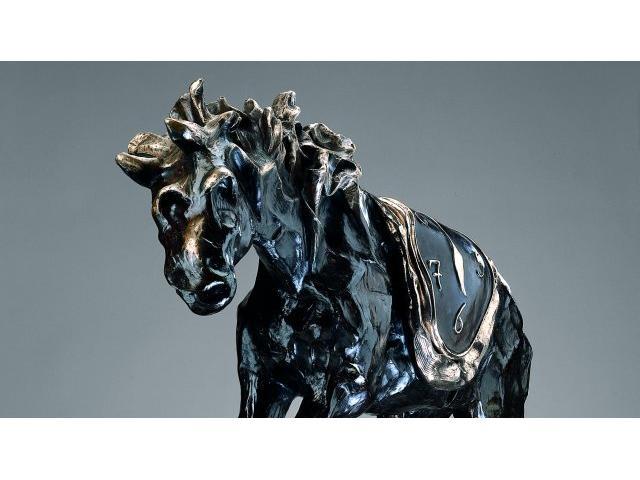 Salvador Dalí (Spanish, 1904-1989) Le cheval à la montre molle  141cm (55 1/2in) (height)