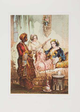 PREZIOSI (AMEDEO) Stamboul. Recollections of Eastern Life, 1858