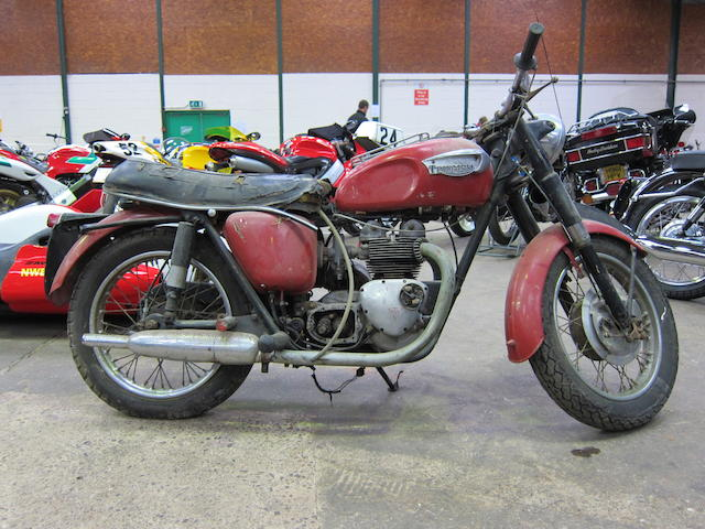 1960s Triumph 3TA Frame no. 3TA H29212 Engine no. 3TA H46142