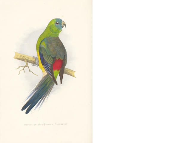 GREENE (WILLIAM THOMAS) Parrots in Captivity, 3 vol.