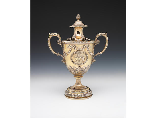 THE RICHMAOND CUP A fine George III silver-gilt cup and cover, by