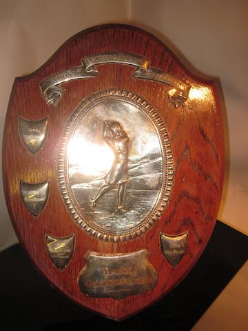 Lady Golfers Club: National Playing Fields Association shield