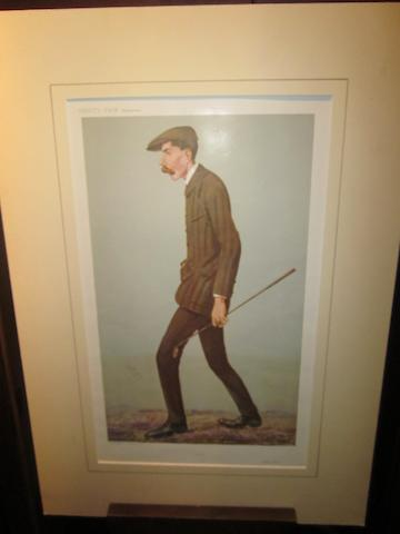 Vanity Fair Supplement: A complete set of golfing chromolithographic prints