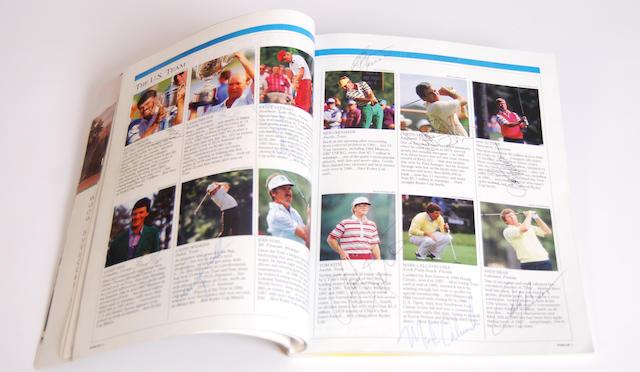 Ryder Cup: a scarce near mint 1987 Ryder Cup programme