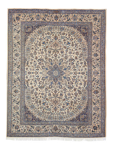 A Nain carpet, Central Persia, 385cm x 296cm