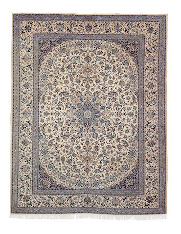 A Nain carpet, Central Persia, 385cm x 296cm