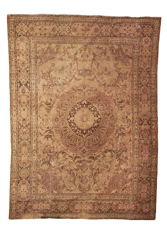A Tabriz carpet, North West Persia, 389cm x 290cm