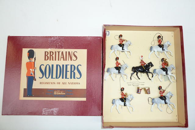 Britains set 9312, Mounted Band of the Scots Greys 83
