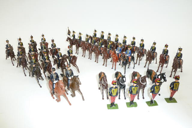 Britains 11th Hussars at the halt 40