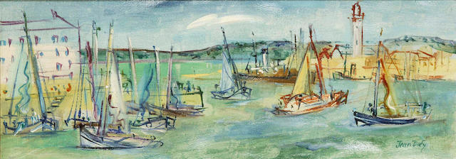 Jean Dufy (French, 1888-1964) Le port d'Honfleur