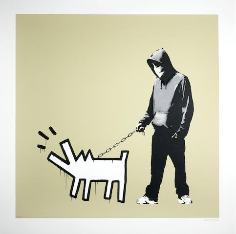 Banksy (British, born 1975) Choose Your Weapon (Khaki)<BR />