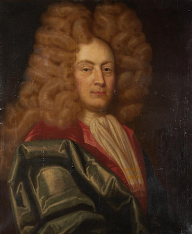 Circle of Thomas Murray (Scotland 1663-1734 London) Portrait of John Mereweather PC