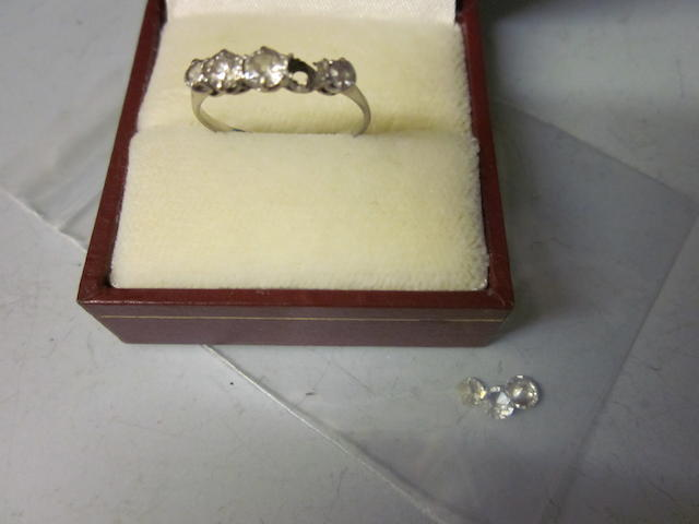 A five stone ring,