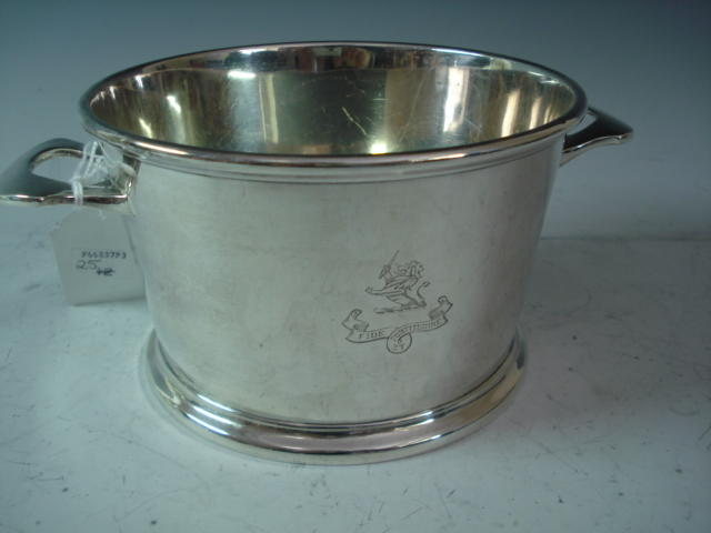 A Canadian silver two-handle ice pail by Birks, Montreal 1933