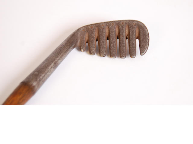 A Brown's Patent 'Major' Rake Iron circa 1904