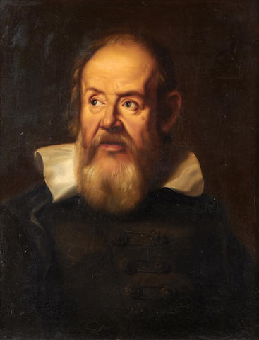 After Justus Sustermans Portrait of Galileo Galilei