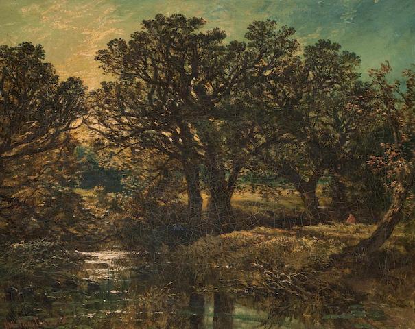 John Milne Donald (Scottish, 1819-1866) On the Lugar