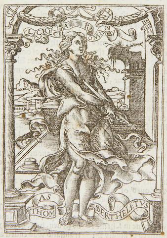 BARTHOLOMAEUS ANGLICUS De proprietatis rerum, 1535