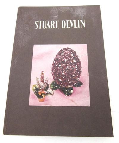 STUART DEVLIN: A  hardback book