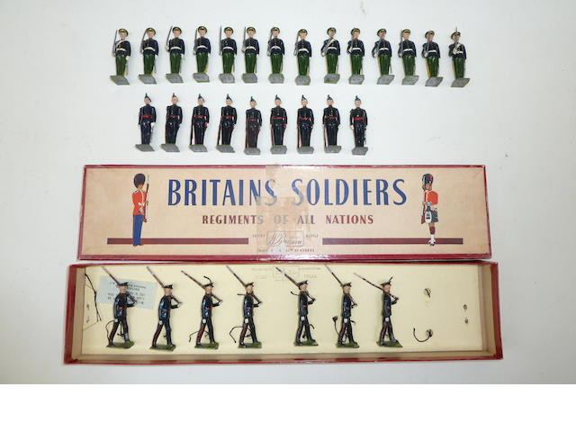 Britains British Army Regiments in No.1 Dress 30