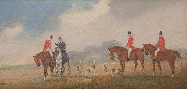 William Rowland (British) The hunt