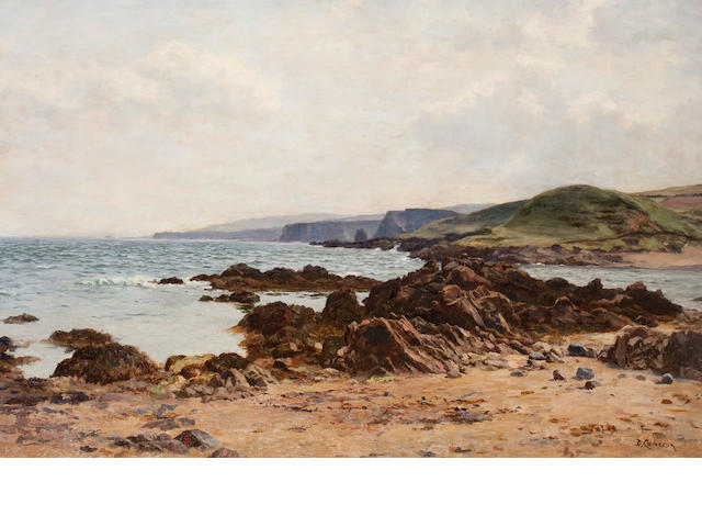 Duncan Cameron (British, 1837-1916) Coastal view