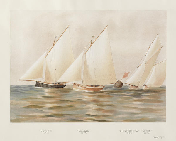 MEIKLE (JAMES) Famous Clyde Yachts 1880-87, FIRST EDITION, 1888