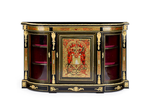 A mid 19th century French  Boulle cabinet