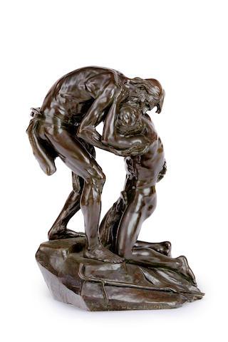 """Ernest Henri Dubois (1863-1931 France)""""Le Pardon"""""""