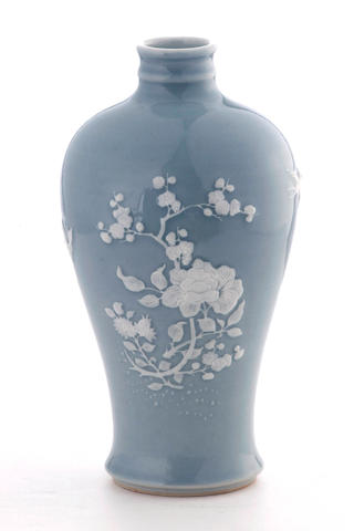 A Chinese meiping vase 20th century