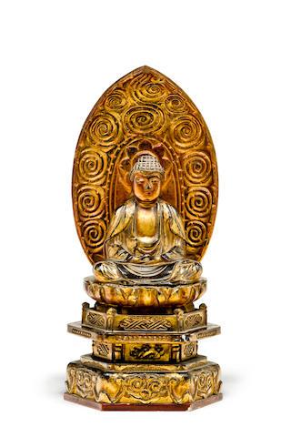 A Japanese Buddha Sakyamuni 19th century