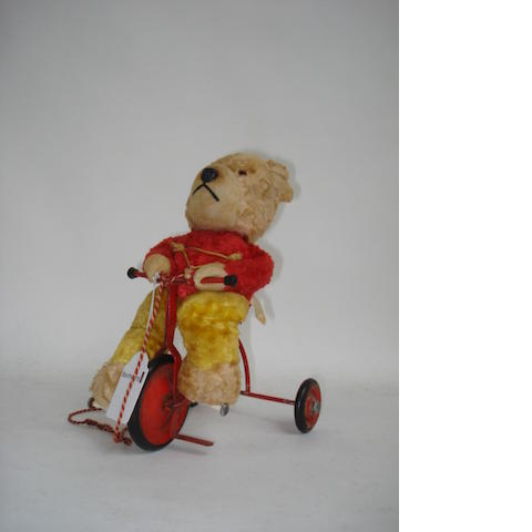 Chiltern Bear on Trike, circa 1958