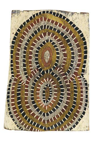 Deaf Tommy Mungatopi (circa 1925-1985) Coral