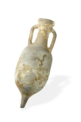 A Ancient Roman clay shipwreck amphora vase