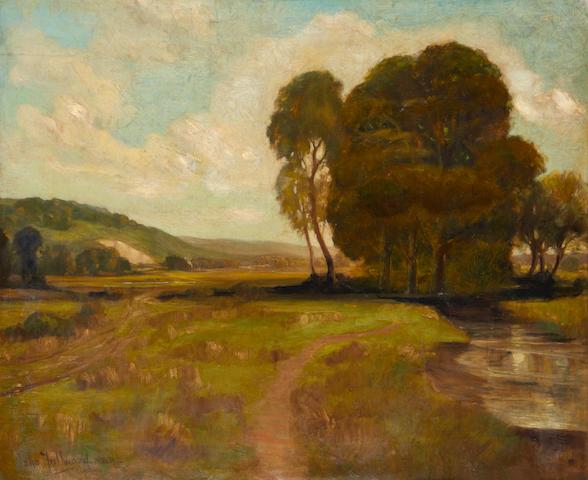 John Fullwood, R.B.A. (British, 1883-1954) Country landscape