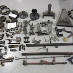 Assorted Bentley chassis spares and other fittings,