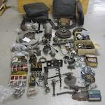A quantity of assorted motoring spares,