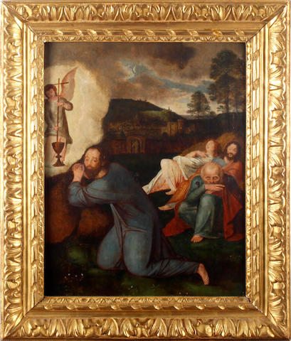 Flemish School, 16th Century The Agony in the Garden