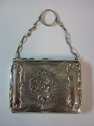 An Edwardian silver aide memoire, by William Neale,  Chester 1908,