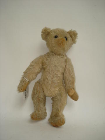 A Small white Farnell Teddy Bear, circa 1920