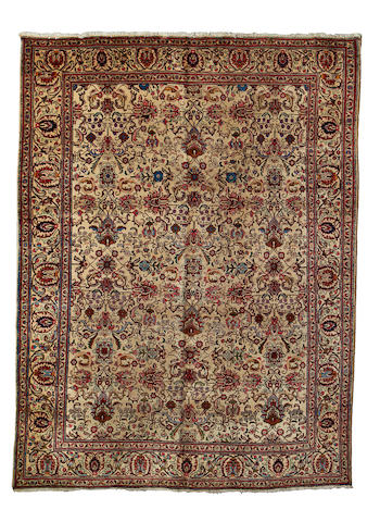 A Tabriz carpet, North West Persia, 410cm x 310cm