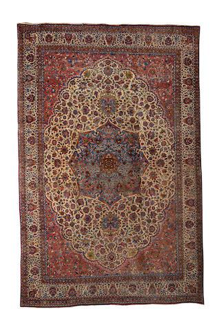 A Kirman carpet, South East Persia, 558cm x 366cm