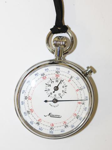 A Minerva Stopwatch