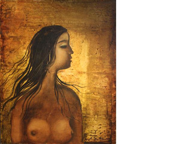 Anjolie Ela Menon (India, born 1940) Nude,