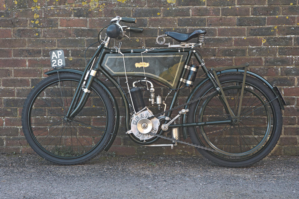 The ex-Murray Motorcycle Museum,1902 Kerry 308cc Frame no. 394 Engine no. 130