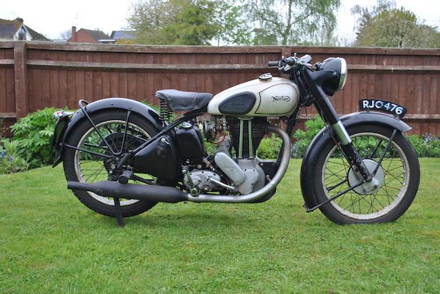 1951 Norton Model 18
